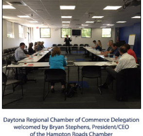 Daytona Regional Chamber of Commerce Intercity Trip