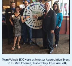 Team Volusia Hosts Investor Appreciation Event