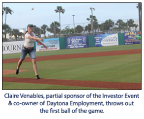 A Ballpark Salute to Team Volusia Investors