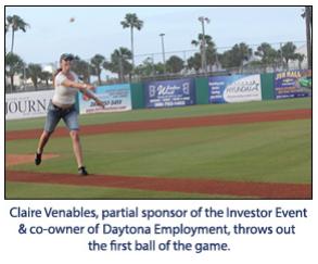 A Ballpark Salute to Team Volusia Investors