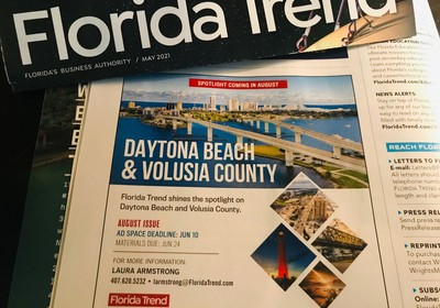 Volusia County to be featured in Florida Trend