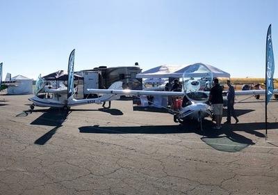 SeaMax Exhibits at DeLand Sport Aviation Showcase