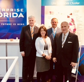 Team Volusia Attends MEDICA World Forum for Medicine